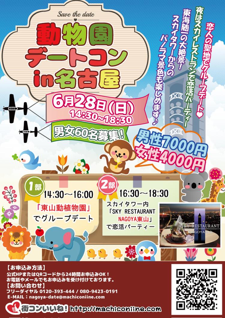 第4回 動物園デートコンin名古屋