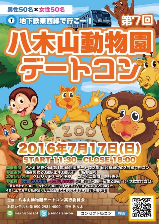 第7回 八木山動物園デートコン