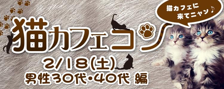第306回 プチ街コンin猫カフェ【男性30歳以上】