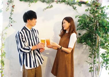 20代限定テラスdeお花見恋活♪