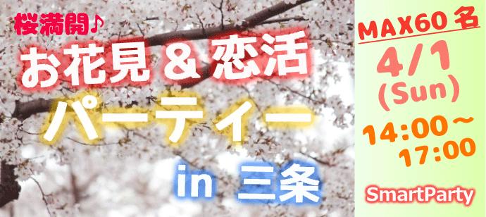 お花見&恋活パーティー in 三条