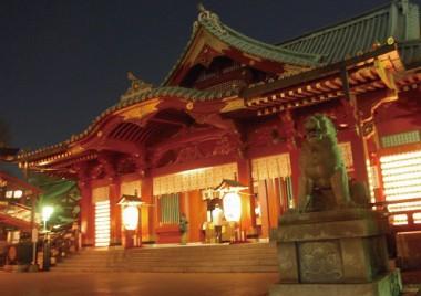 第1回 大人数の「ご利益神社でお花見」桜と屋台
