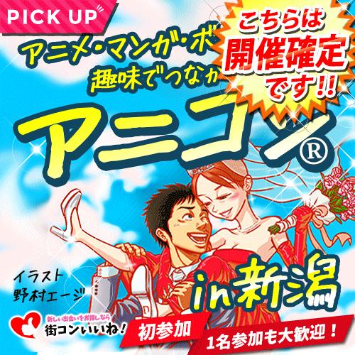 アニメ好きの街コン「アニコンin新潟」