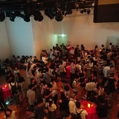 男女比の徹底がNo.1!! ※写真は代官山400名参加の弊社大規模イベントとなります。