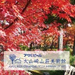 秋の大山崎山荘で大人の紅葉デート♪