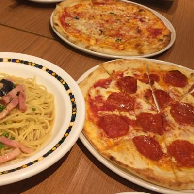 ピザ・パスタ食べ放題のお店で開催した時の様子です♪ ハピこいはフードにもこだわりがあります☆