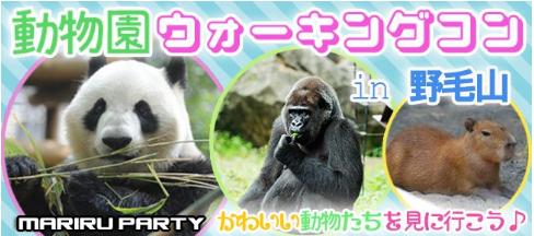 動物好きに悪い人はいない♪野毛山動物園ウォーキングコン☆