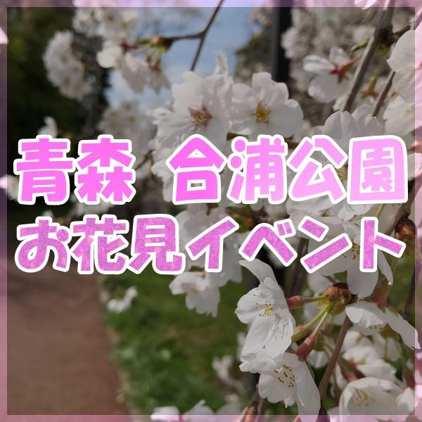 2019 青森 合浦公園 お花見フェスティバル!!!