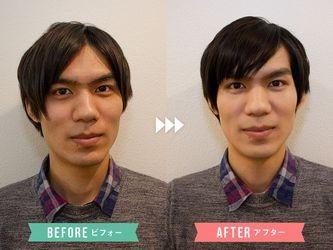 メンズメイクで第一印象アップ大作戦