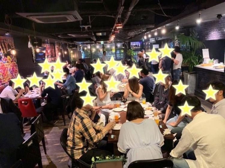 プロの占い師による無料占いあり!心斎橋20時START!たっぷり3時間!30代メイン!40名様!MCによる席がえあり!BIG合コンParty!
