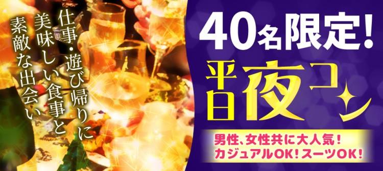 平日の夜は楽しく恋活☆幅広い世代で楽しむ平日夜コンin太田