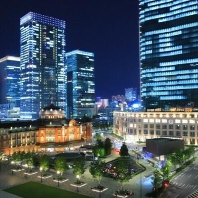 東京駅前の夜景★