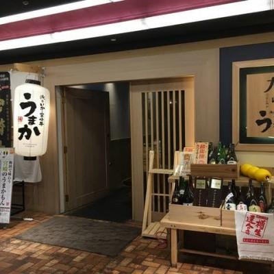 当日会場店舗  個室泳ぎイカ 宮崎うまか梅田店   お店イメージ写真。 オシャレな個室居酒屋さんです。