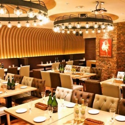 当日会場店舗  PIZZA & WINE BAR エントラータ HEPナビオ店 インスタ映え確実なオシャレなイタリアンレストランです。