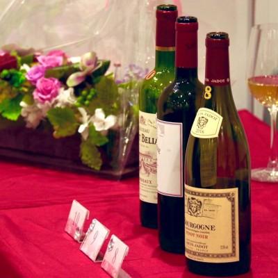 フランス産をメインに世界各国の上質なワインをご提供