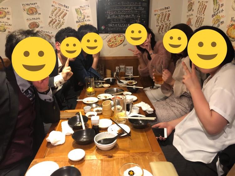 上野はしご酒コン - 女性無料ご招待!