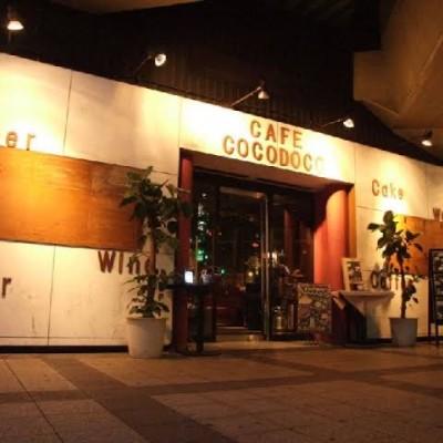 当日会場店舗 cafe cocodoco カフェ ココドコ様 インスタ映え確実のオシャレな隠れ家カフェです。