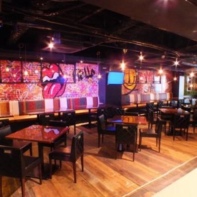 当日会場店舗 サファリ様 インスタ映え確実のオシャレな豪華レストランです。