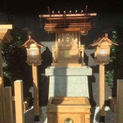 メインデッキにタワー大神宮がございます。