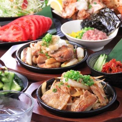 超絶品な鉄板焼きなど、70種もの料理がオーダー式で食べ放題!!